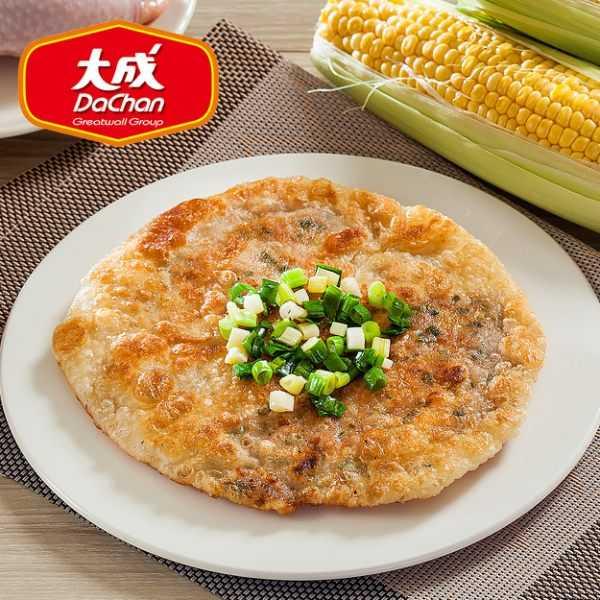 【大成】酥嫩雞肉香蔥薄餅*1包組(10片裝/包/1.4kg)