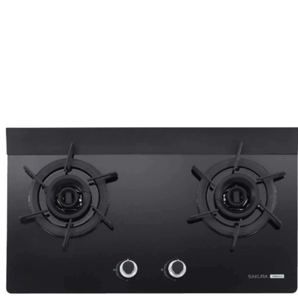 (無安裝)櫻花【G-2922AGBN-X】雙口檯面爐黑色(與G-2922AGB同款)瓦斯爐天然氣