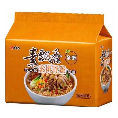 維力素飄香素排骨雞90g(5入)/袋【康鄰超市】