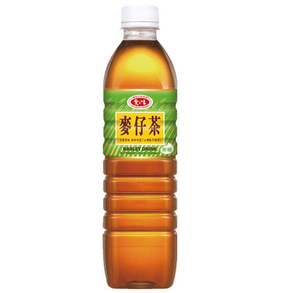愛之味麥仔茶-無糖590ml【康鄰超市】