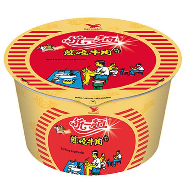 統一麵蔥燒牛肉風味90g/碗【康鄰超市】