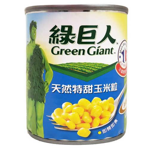 綠巨人天然特甜玉米粒(小罐)198g(7oz)
