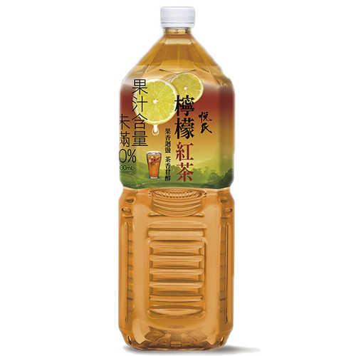 悅氏礦泉茶品檸檬紅茶2000ml