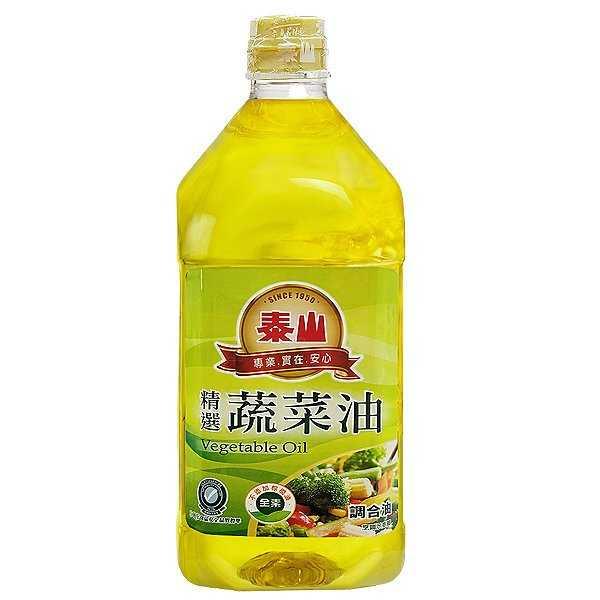 泰山精選蔬菜油1.5L