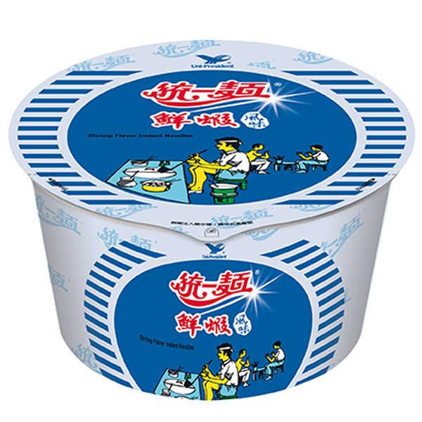 統一麵鮮蝦風味83g/碗【康鄰超市】