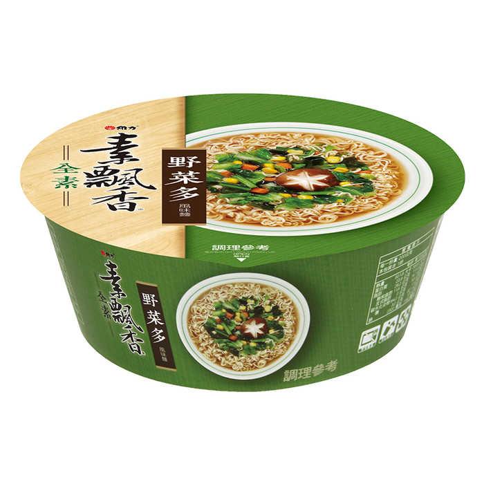 維力素飄香野菜多風味麵(碗裝)85g【康鄰超市】