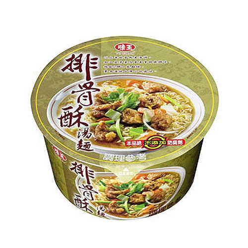 味王排骨酥湯麵80g【康鄰超市】