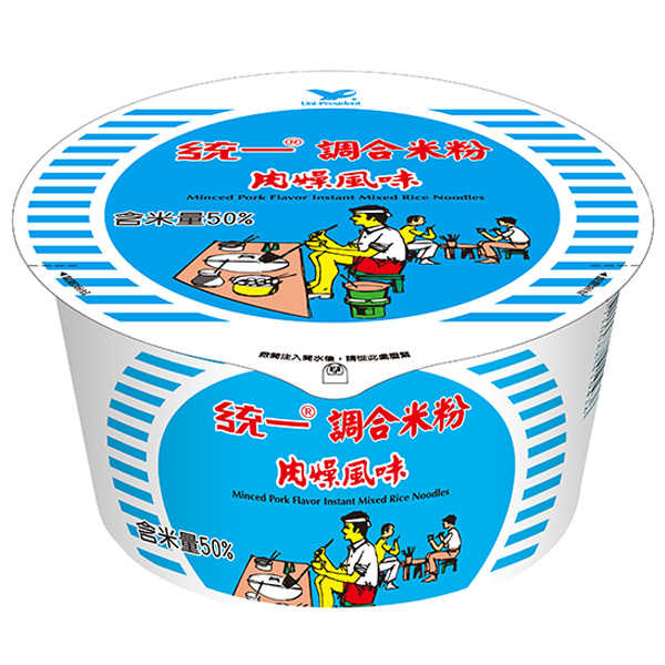 統一調合米粉肉燥風味64g/碗【康鄰超市】