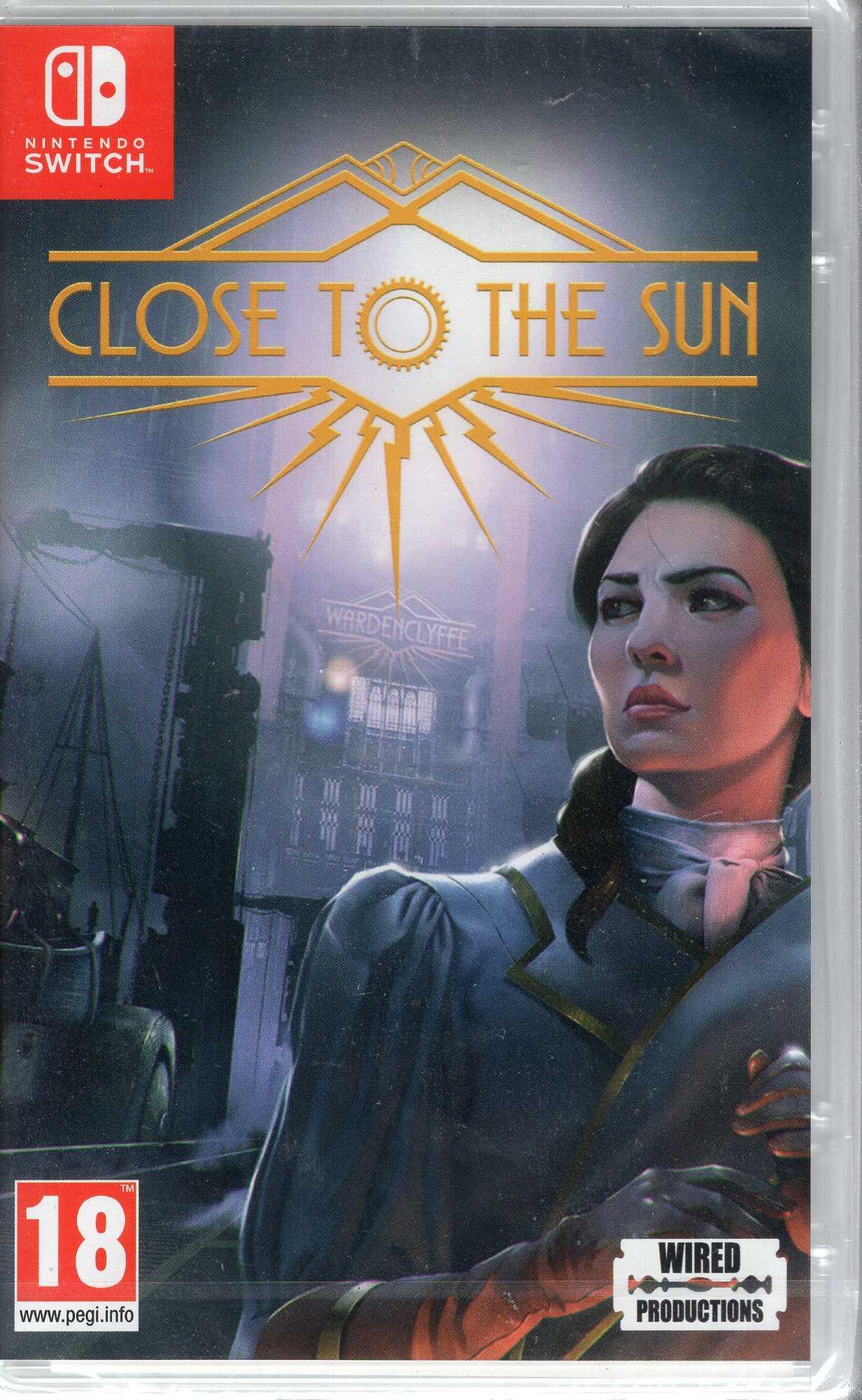 現貨中 Switch遊戲NS 靠近太陽 Close to the Sun 簡中文版【板橋魔力】