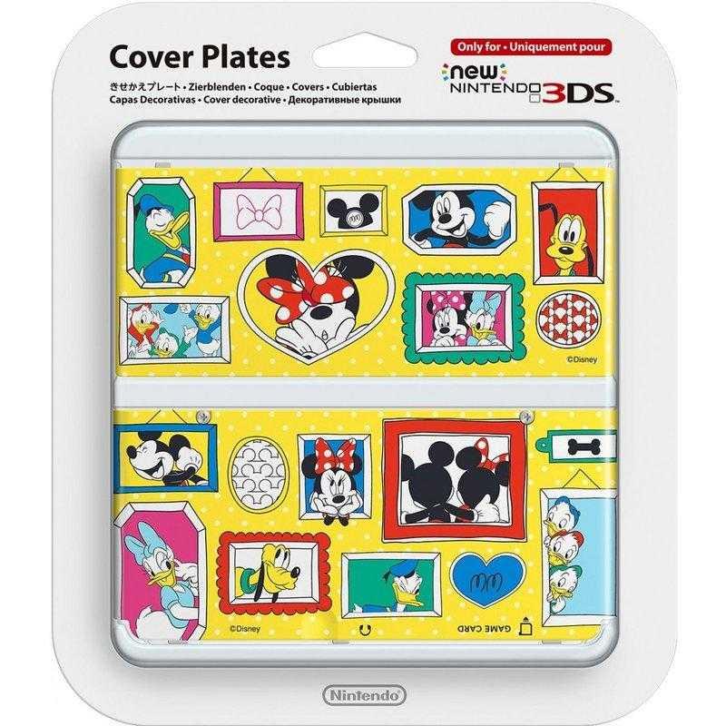 NEW 3DS專用 任天堂原廠 主機 上下 外殼 替換面板迪士尼限定 New N3DS NO.074