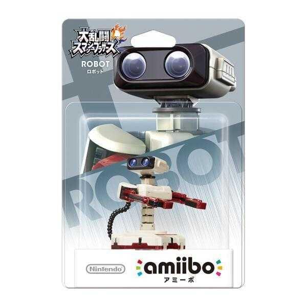 任天堂明星大亂鬥 近距離無線連線 NFC 連動人偶 amiibo 機器人 ROBOT