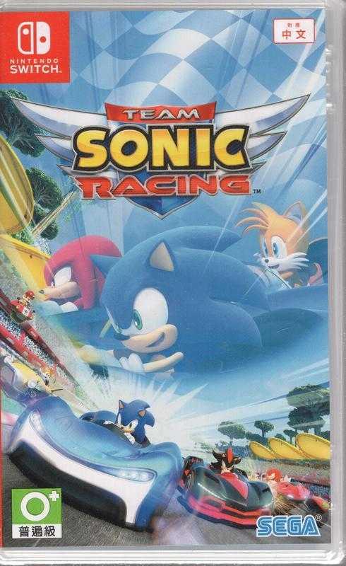 Switch 遊戲 音速小子 搭檔組隊大賽車 Team Sonic Racing 中文版【板橋魔力】