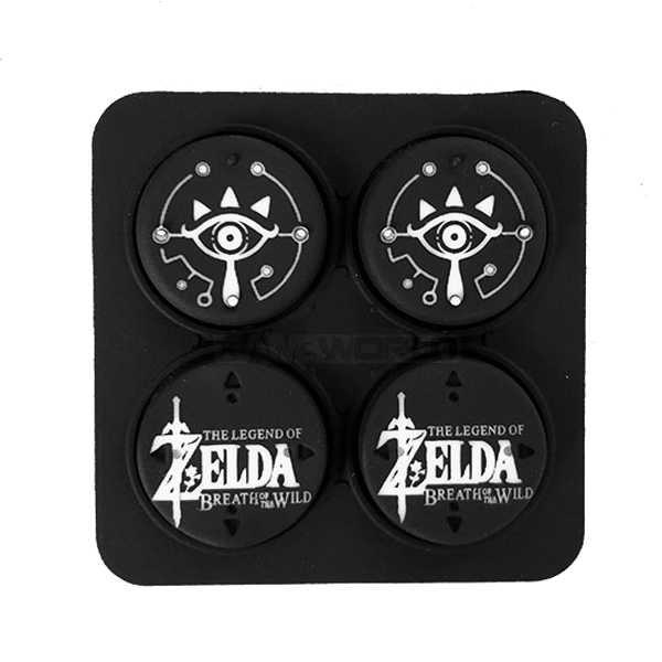 NS 桿套 【 薩爾達 式樣】類比套 / joy-con專用 四入裝 / Nintendo Switch【電玩國度】