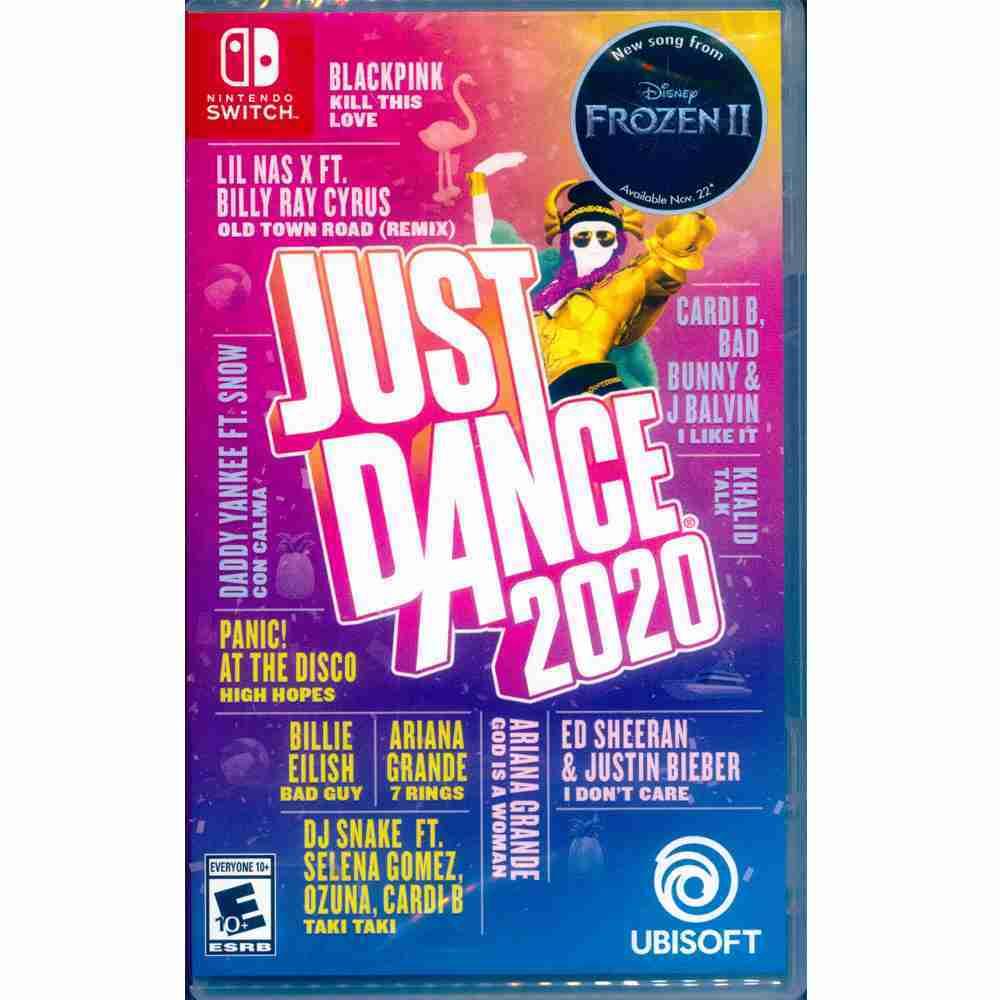 (現貨二手原廠整新封膜) NS SWITCH 舞力全開 2020 中英文美版 Just Dance 2020