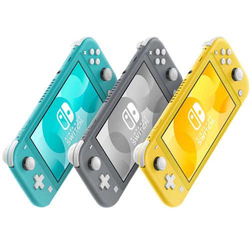 Switch NS Lite 主機+保護貼+收納包 台灣公司貨 【AS電玩】