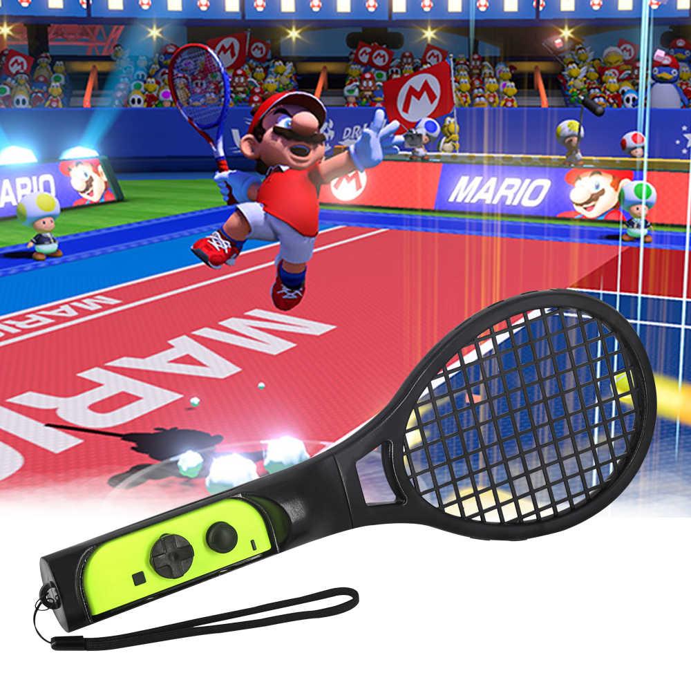 任天堂《Switch網球拍》瑪利歐網球 王牌高手 體感使用 紅藍兩入組