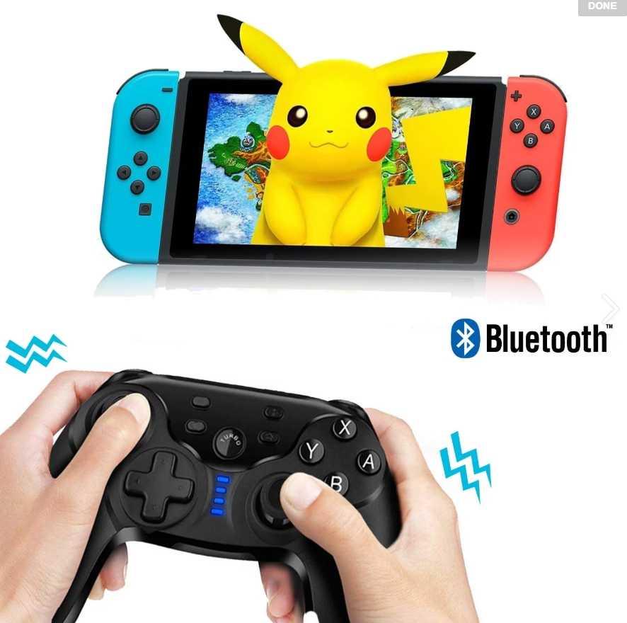 預購【Switch 無線藍芽手把】NS遙控器 任天堂 無線搖桿 手把 振動功能
