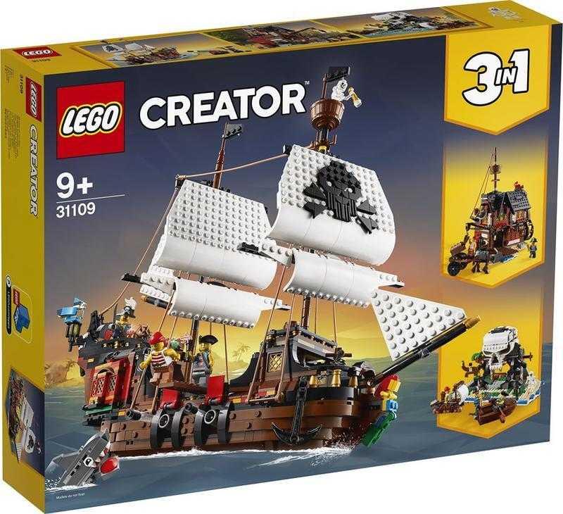 樂高 LEGO 積木 CREATOR 3合1 創意系列 海盜船 31109 現貨代理