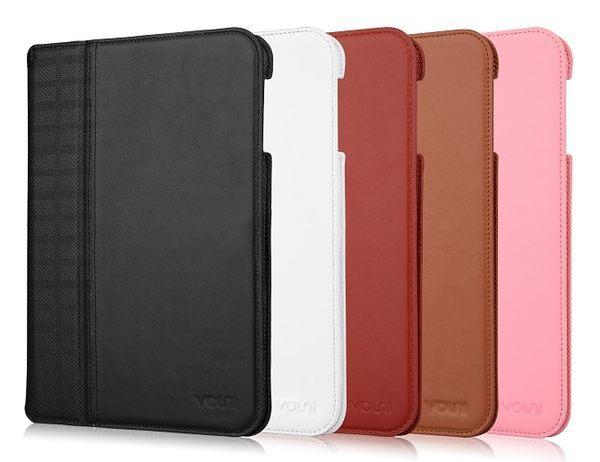 【愛瘋潮】Vouni Apple iPad mini iPad mini2 專用 格紋真皮皮套 保護