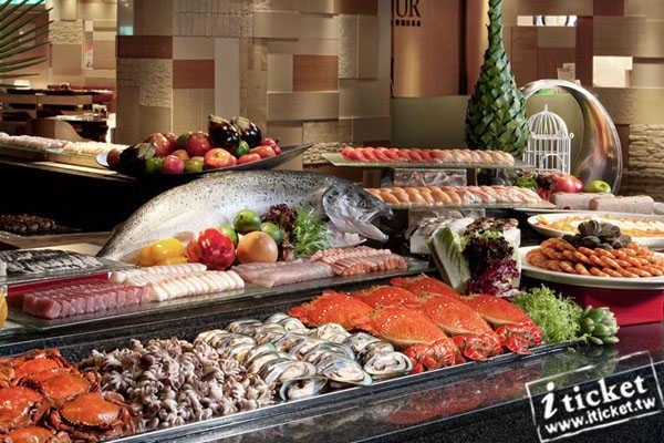 漢來海港自助餐廳平日自助晚餐券
