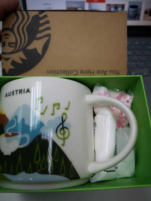 【迦南美地】 Starbucks 星巴克 AUSTRIA 奧地利 星巴克杯 城市杯 紀念杯奧地利城市