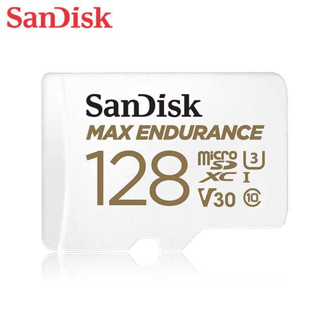 SanDisk MAX ENDURANCE 極致耐寫 MicroSD 128G 長時錄影專用 SD-SQQVR-128G