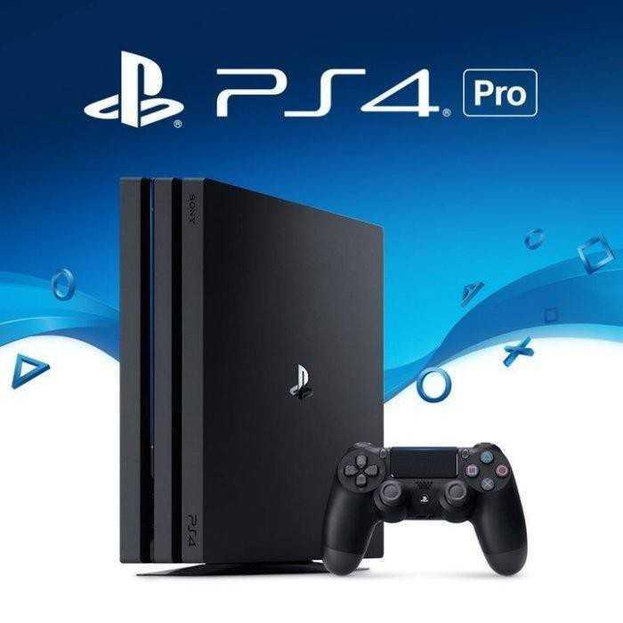 【嚴選電玩】PS4 PRO 1TB 極致黑色 7218型 全新未拆 台灣公司貨保固一年