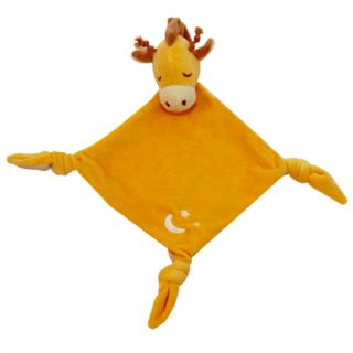 (限時團購)美國【MyNatural】有機棉晚安系列安撫巾-兩款可選