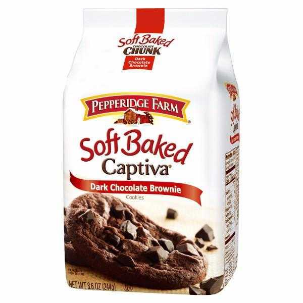 PEPPERIDGE FARM - 巧克力布朗尼軟餅乾(5入)