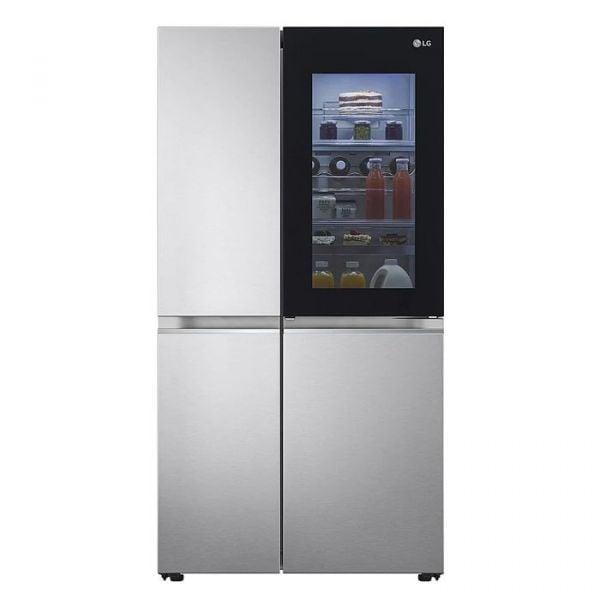 (拆箱定位+零利率) LG【821公升】WiFi門中門對開冰箱 GR-DL88W白色