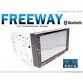 音仕達汽車音響 FREEWAY FRE-702 7吋 全觸控繁體 DVD/USB/免持藍芽/方控/ 可選配直控式數位電視