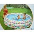 玩樂生活 美國INTEX 56440 彩色星星充氣游泳池 兒童戲水池 幼兒夏天玩水池 嬰兒遊戲球池 附修補片