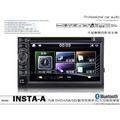 音仕達汽車音響【INSTA-A】DVD/USB/SD/MP3/BT 支援1080P 全新 繁體中文 6.5吋 高清電容屏 觸控影音主機