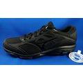 全新黑色款 美津濃 MIZUNO 男3E寬楦慢跑鞋 MAXIMIZER 22 型號 K1GA200209 [126]