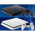 SONY PS4 SLIM 新版主機 CUH-2218 1T 1TB 極致黑 冰河白 黑色 白色 公司貨 加贈遊戲 台中
