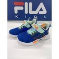 FILA KIDS 中大童MD輕量慢跑鞋-藍橘 2-J429U-336