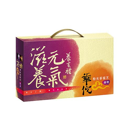 華佗粉光蔘靈芝雞精禮盒70g x9瓶