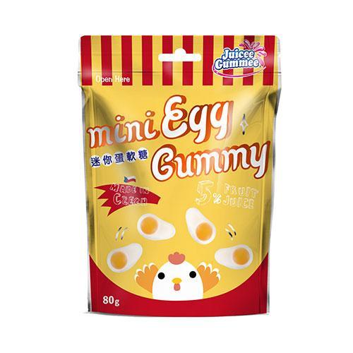百靈QQ軟糖-迷你荷包蛋造型80g