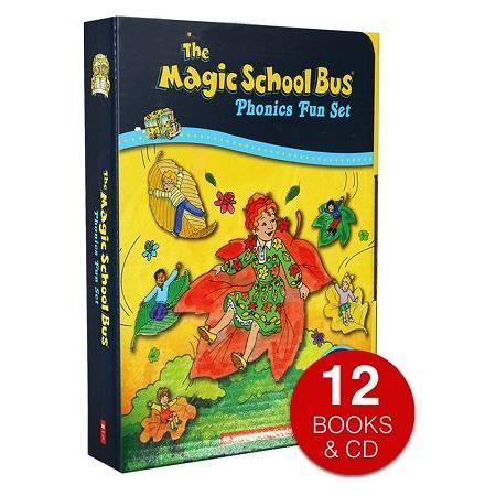 Magic School Bus Phonics Fun Set(with CD) 12 titles魔法校車發音讀本套書 (12書+CD)