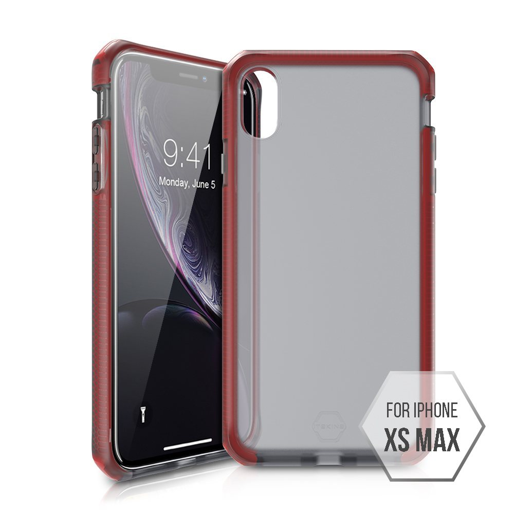 【Flightline】法國 ITSKINS SUPREME FROST iPhone XS Max Case 全面性保護超輕薄高強度防震防摔 iPhone XS Max手機殼 (COLORS: 紫)
