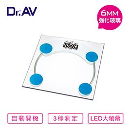 【Dr.AV】超精準 電子體重計