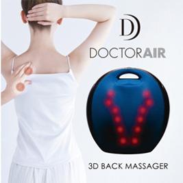 DOCTOR AIR-3D背部按摩器(RT2109)+3D按摩枕(MP001)(贈紓壓椅)