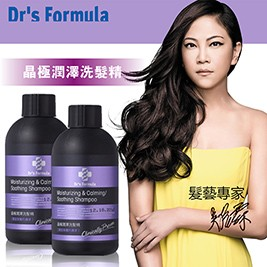 《台塑生醫》Dr's Formula晶極潤澤洗髮精100g