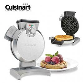 【美國 Cuisinart】美膳雅 直立式鬆餅機 waf-v100tw