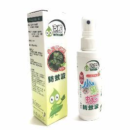 【克蠓】 小花蔓澤蘭新配方 小黑蚊、一般蚊蟲 防蚊液 (80ml)