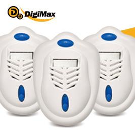 【DigiMax】UP-121雙效型可攜式驅蚊器
