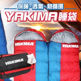 YAKIMA保暖睡袋/保暖透氣熱循環