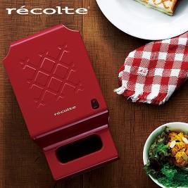 【recolte日本麗克特】Quilt 格子三明治機