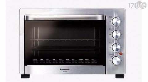只要 4,180 元 (含運) 即可享有原價 6,990 元 【Panasonic 國際牌】38L雙溫控/發酵烘焙烤箱 NB-H3800 (加贈食譜)