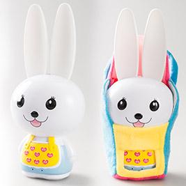 超值組(買一送四)【歌林】台灣製!第二代芽比兔幼兒啟蒙教育故事機+贈小